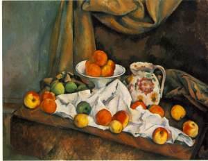 cezanne.compotier-pitcher-fruit