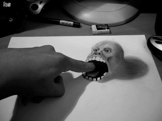 رسم-ثلاثي-الابعاد-بالرصاص (1)