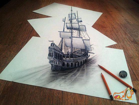 رسم-ثلاثي-الابعاد-بالرصاص (5)