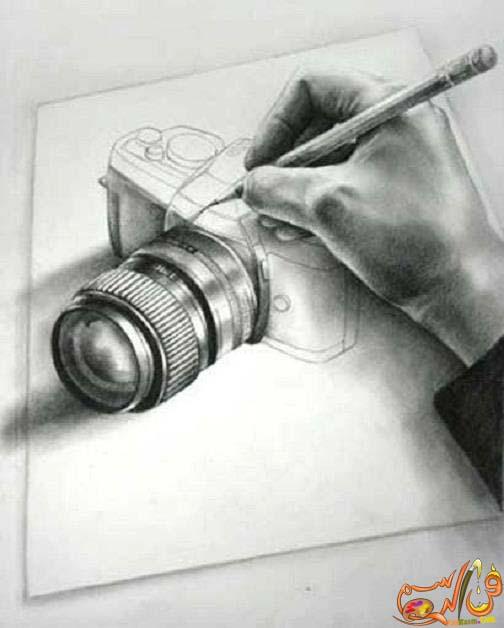 رسم-ثلاثي-الابعاد-بالرصاص (8)