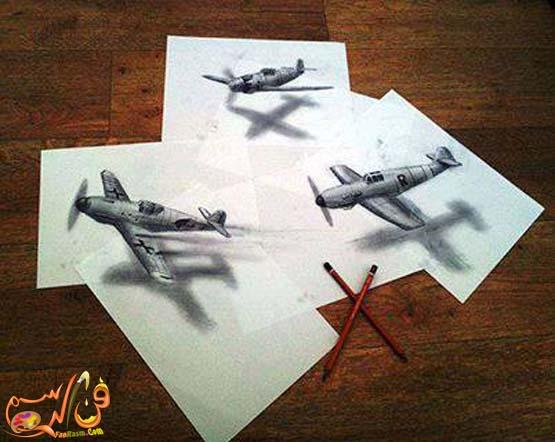 رسم-ثلاثي-الابعاد-بالرصاص (9)