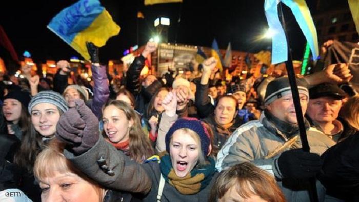 UKRAINE-EU-PROTEST-POLICE