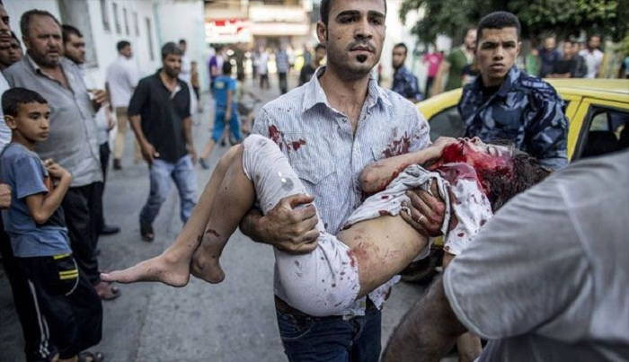عدوان اسرائيل على غزة حرب ابادة في ظل صمت عربي ودولي+فيديو